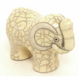 Elephant Small (White)