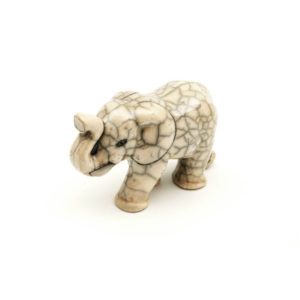Walking Elephant Small (White)