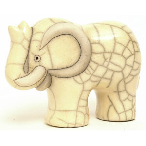 Elephant Large (White)