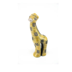 Mini Yellow Gazing Giraffe