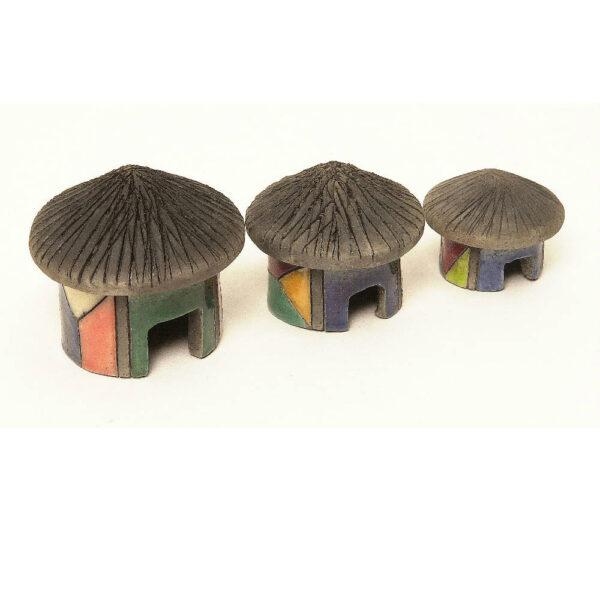 Mini Hut Set of Three