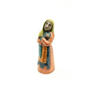 Sandra's Nativity Scene - Mary & Baby