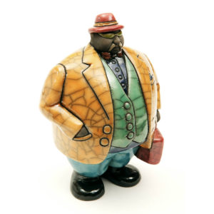 Mr Potbelly Businessman