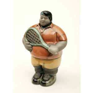 Mr Potbelly Tennis Player (Colours)