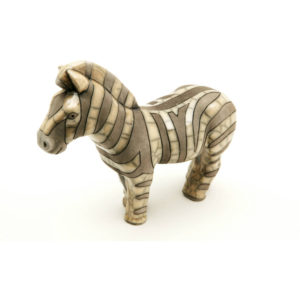 Zebra Large (Black & White, New Design)