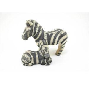 Zebra & Calf