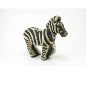 Giant Zebra (Black & White, New Design)