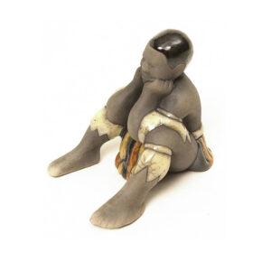 African Figure - Young Zulu Boy