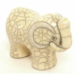 Elephant Small (White)
