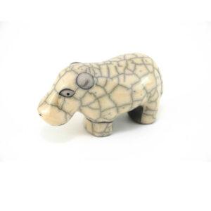 Mini Hippo (White)