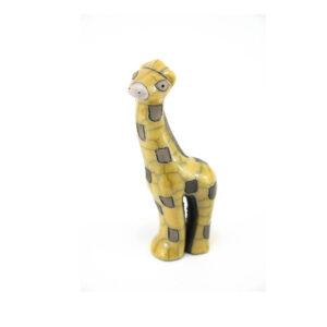 Mini Yellow Gazing Giraffe