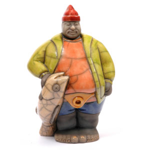 Mr Potbelly Fisherman