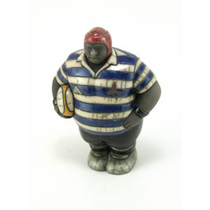 Mr Potbelly Rugby Player (WP)